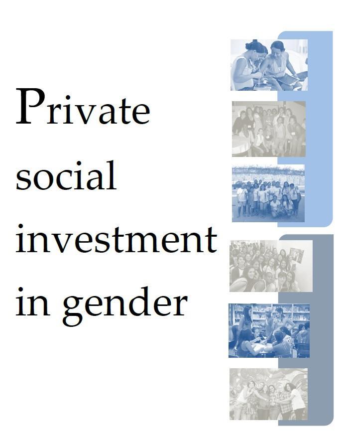 Private Social Investment in Gender (versão em inglês Investimento à favor da Inclusão)